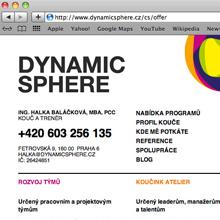 web Dynamic Sphere