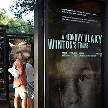 Výstava Wintonovy vlaky