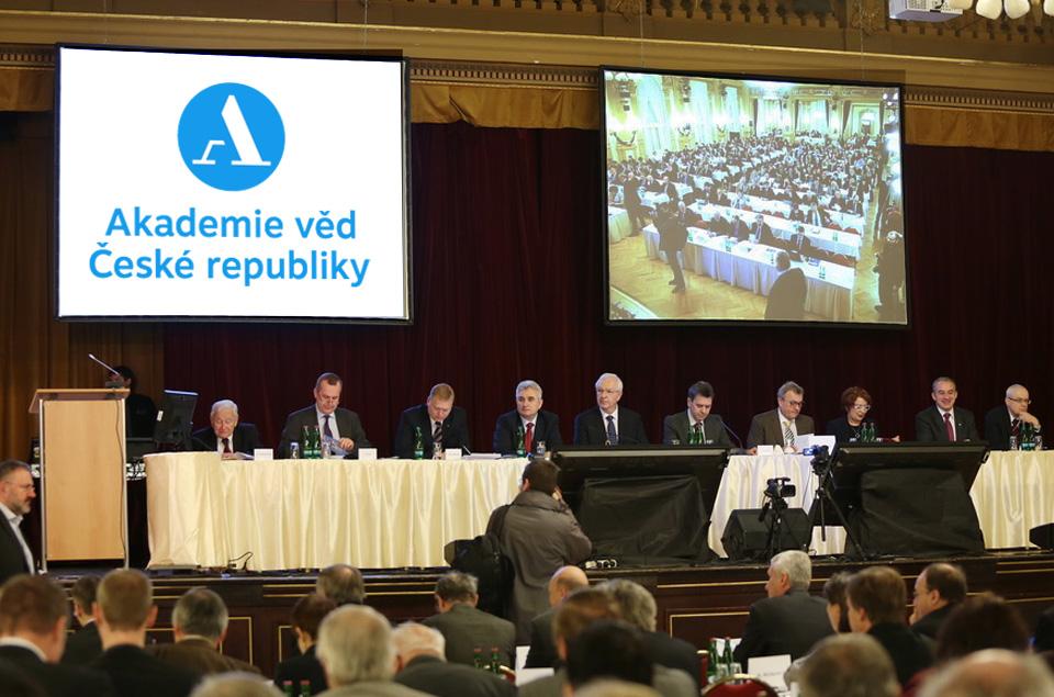 <p>XLV. zasedání Akademického sněmu AV ČR, foto: Stanislava Kyselová, Akademický bulletin</p>